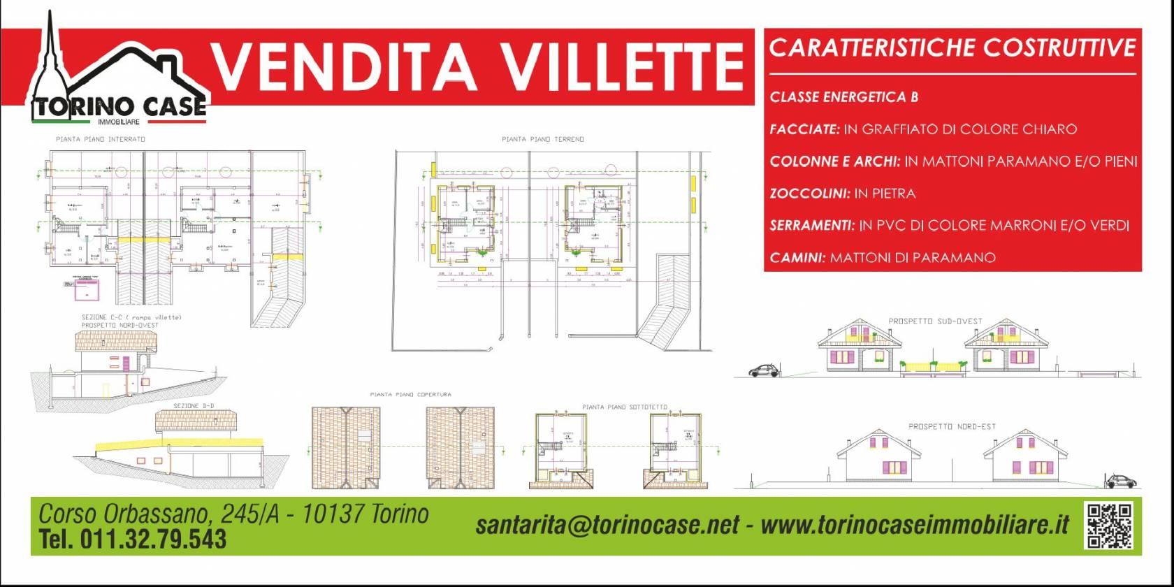 Villa unifamiliare via Cuneo 7, Sangano
